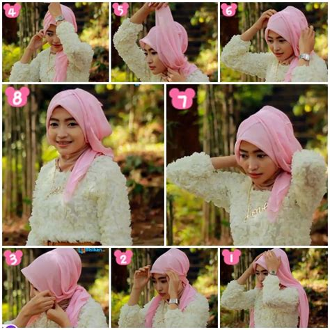 tutorial hijab pesta bahan satin gambar hijab tutorial untuk pesta tutorial hijab pesta