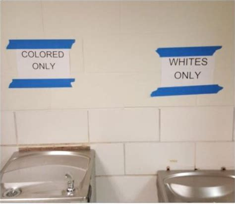 colored only student defends posting whites only colored only