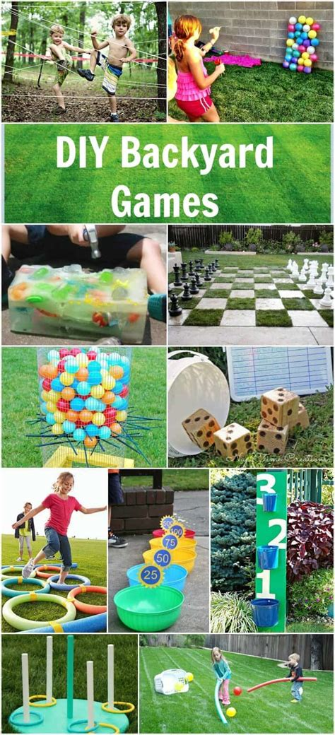 games to play in the backyard easy diy backyard games page 2 of 2 princess pinky girl