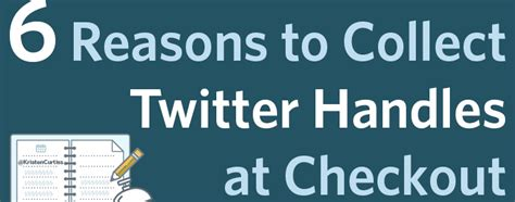 6 reasons to check out 6 reasons to collect twitter handles at check out constant contact blogs