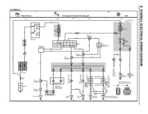 wiring diagram for toyota corolla 1996 k