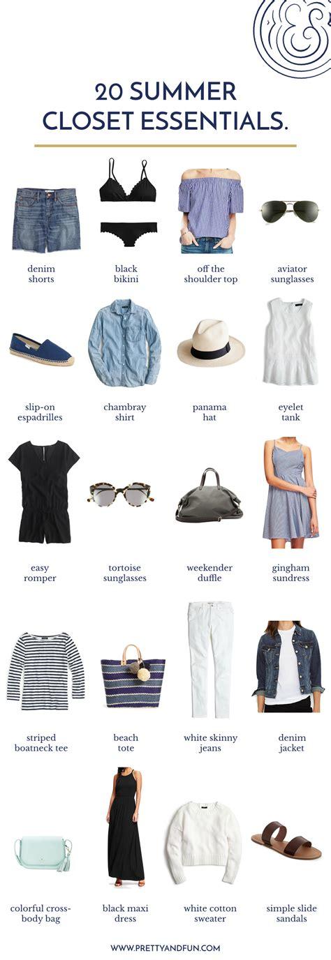 Essential Summer Wardrobe by 20 Summer Wardrobe Essentials Your Closet Needs
