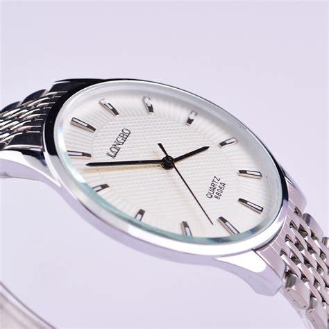longbo slim watches sport wrist steel