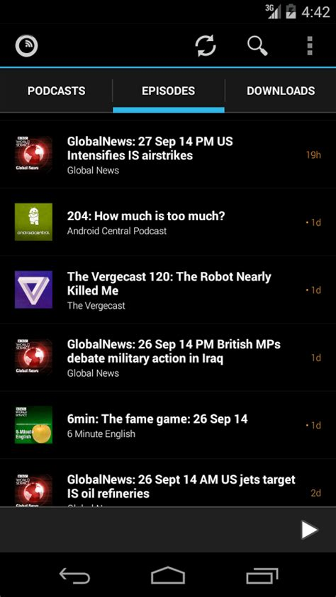 android podcast app podkicker podcast player android apps on play