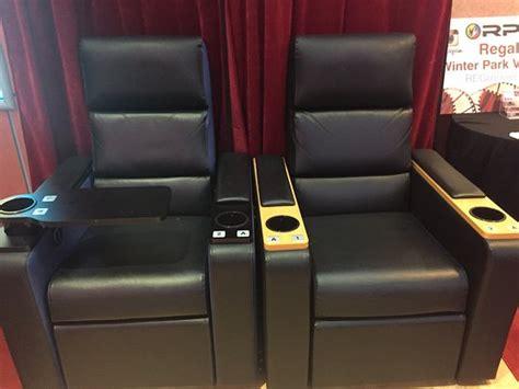 regal recliner seats regal cinemas winter park village new recliner seats new