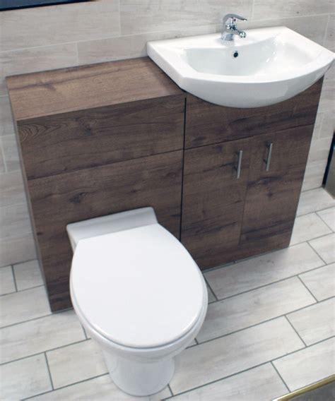 1050mm walnut oak finish bathroom furniture vanity set