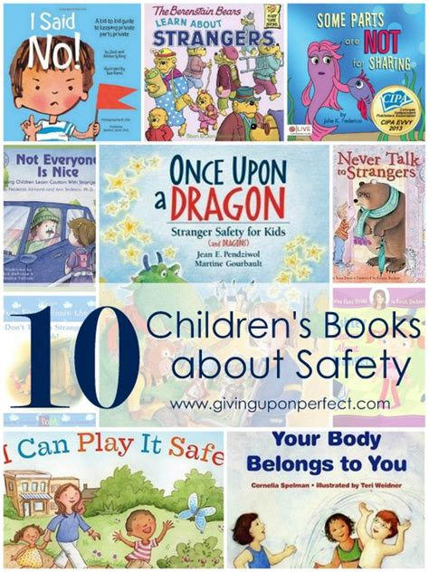 10 books about safety for children carver