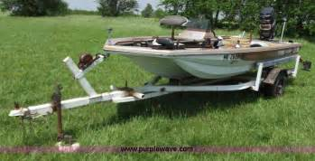 bass boats for sale midwest 1977 terry abf 15 bass boat item c2115 sold may 30