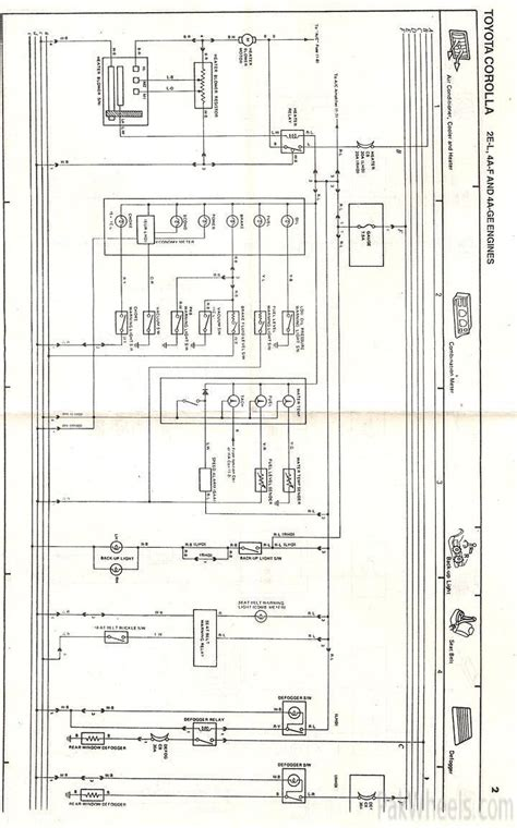 toyota xli electrical wiring diagram wiring diagram with