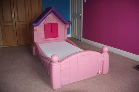 girls little tikes princess cozy cottage bed for sale in