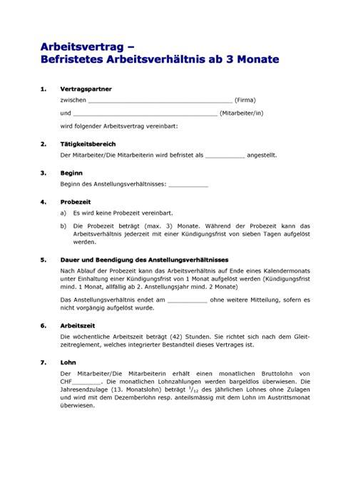 4 arbeitsvertrag muster bewerbungsschreiben