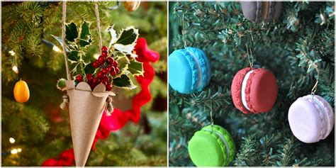 easy homemade christmas ornaments    diy