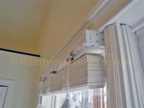 home decorators collection blinds installation instructions how to install faux wood window blinds handymanhowto com