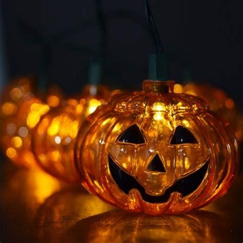 led paper lantern string lights 10 pumpkin halloween led string light 5 5ft battery