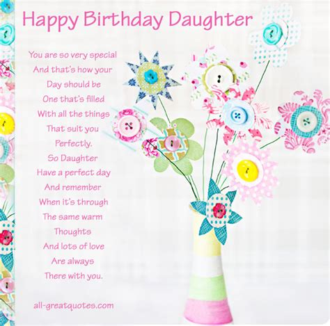 printable happy birthday daughter cards happy birthday quotes for daughter quotesgram