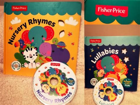 s lullaby padded board book books fisher price nursery rhymes lullabies large hardback board