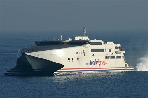 fast boats to jersey opiniones de condor ferries