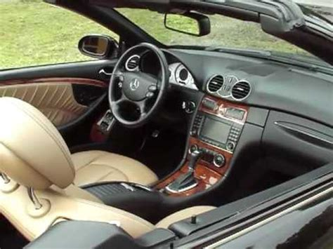 the clk class cabriolet has a sporting new style that will
