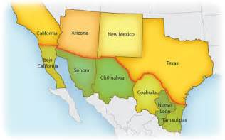 map of arizona mexico border mexican army troops cross border into u s 300 times since