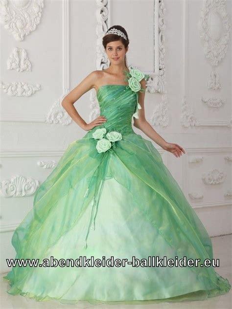 Green Apple Giwang mint gr 252 nes sissi kleid abend ballkleid mit t 252 ll und