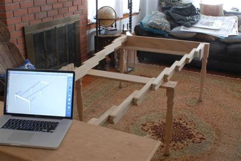 how to make an expandable table diy expandable dining table plans woodworking projects