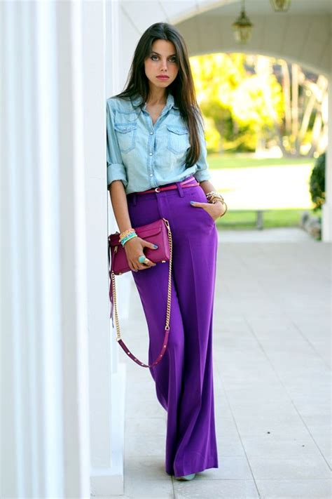 colors that look good with purple 35 casual work outfits 2016 khbuzz