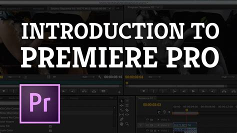 Tutsplus Introduction To Video Editing In Adobe Premiere Adobe Premiere Intro Templates