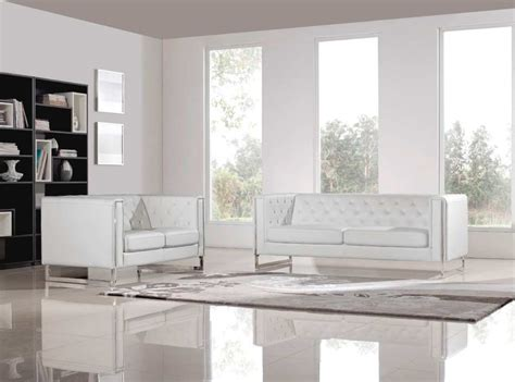 White Leatherette Sofa by White Leatherette Sofa Small White Faux Leather Sectional