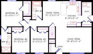Rancher Home Plans Floor Plans 1