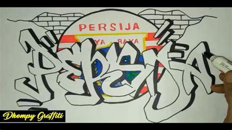 graffiti persija jakarta youtube