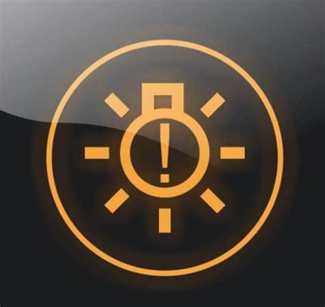 kontrolka awarii swiatel zewnetrznych kontrolki samochodowe