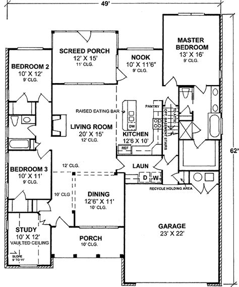 get layout meaning one level 4 bedroom modern home design ideas