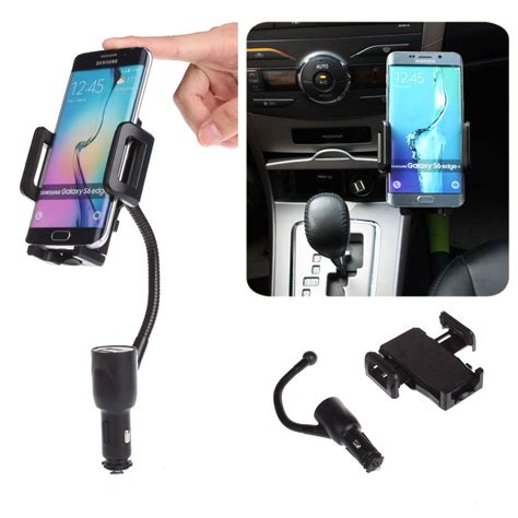 Car Holder Charger Mount Arsy eincar dual usb port charger cigarette lighter car mount holder dual usb port cigarette
