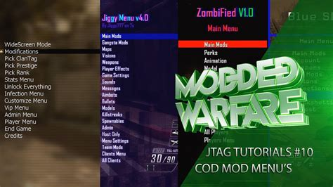 how to install cod patches mod menus using multiman tutorial jtag rgh tutorials 10 installing call of duty mod menu s