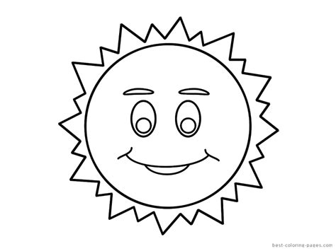 printable coloring pages sun free coloring pages of sun