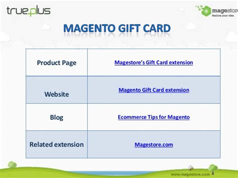 Magestore Gift Card - magento gift card