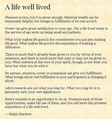 A Well Lived a well lived sayings quotes n things i to read