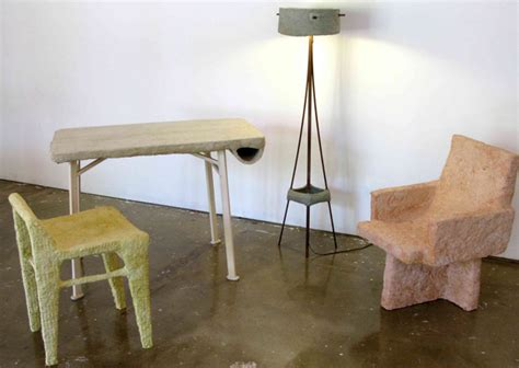 chris palmer s paper pulp series is a line of furniture