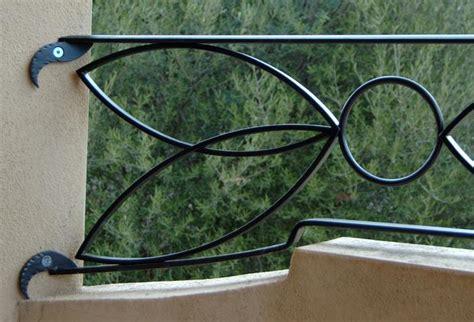 parapetti terrazze ziranu salvatore parapetto in ferro battuto modello