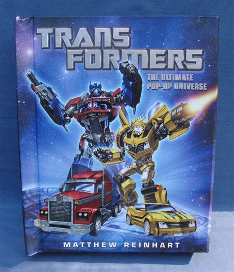 libro transformers the ultimate pop transformers the ultimate pop up universe book first edition matthew reinhart