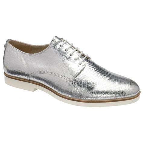 ravel shoes buy ravel brogue silver leather
