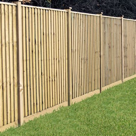 Timber Trellis Fencing Grange 4ft Featheredge Pressure Treated Wooden Fence Panel