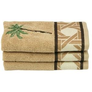 palm tree bath towels better homes and gardens palm decorative bath towel collection
