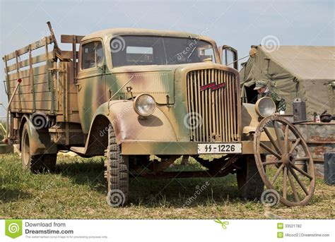 german opel blitz truck opel blitz truck editorial photography image of military