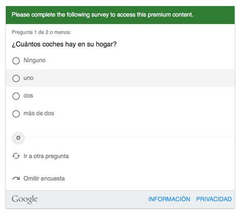 hacer preguntas en google google consumer surveys la nueva herramienta para