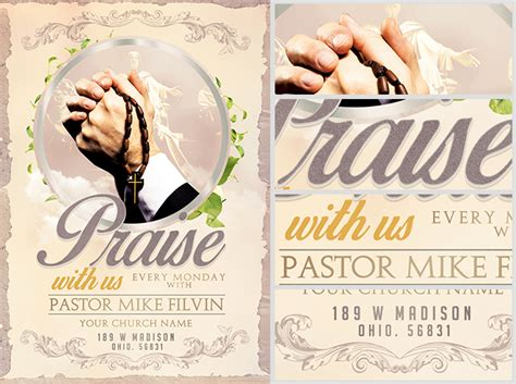 free flyer templates for church events church event flyer template flyerheroes