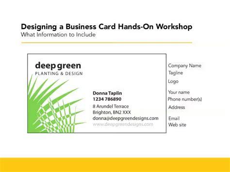 designing a magazine layout hands on workshop lynda designing business cards hands on workshop