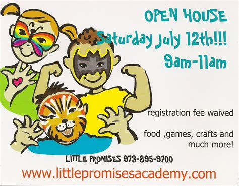 little house academy open house july 12th 2014 little promises academy blog