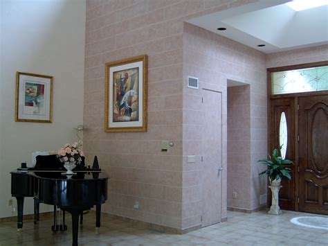 painting interior walls residential interior faux concrete block wall all pro