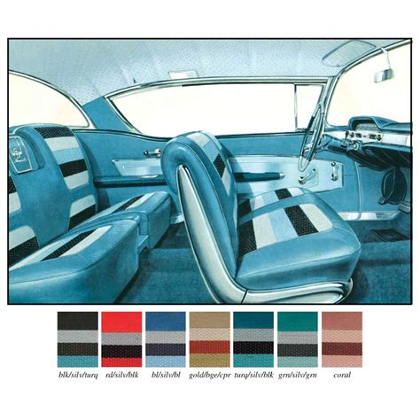 Upholstery Kits For Cars by Impala Parts Interior Soft Goods Seat Upholstery